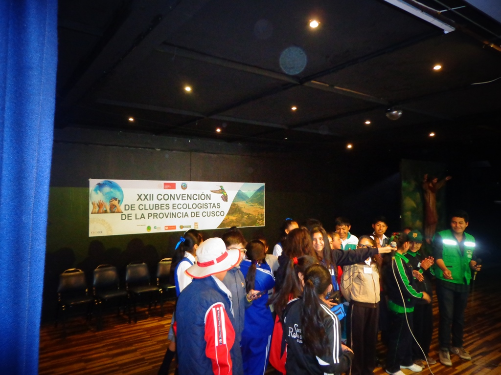 XXII Convencion de Clubes Ecologistas de la provincia de Cusco