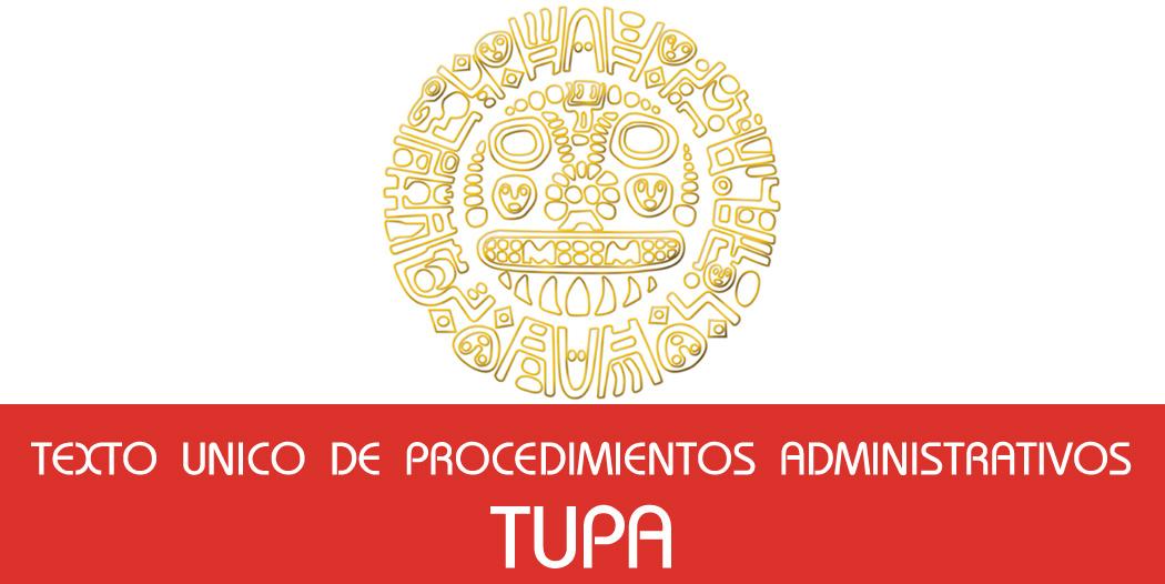 Texto Unico de Procedimientos Administrativos – (TUPA)