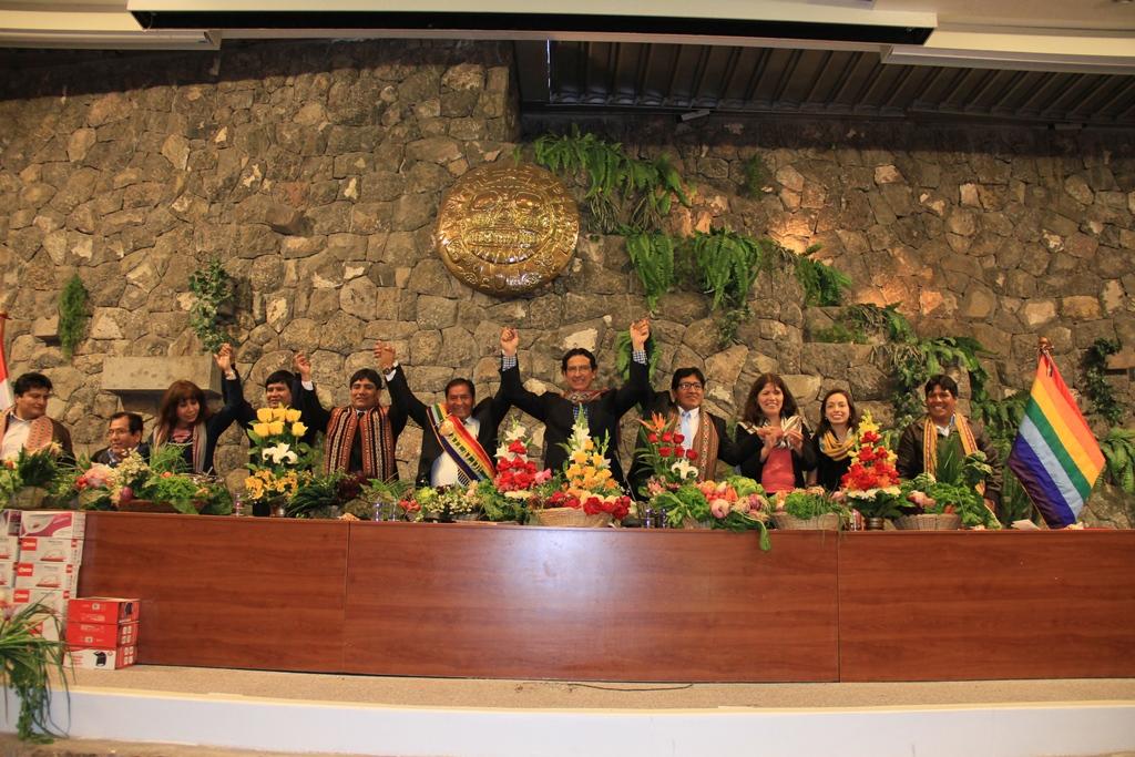 COMUNIDADES DE LA CUENCA DEL QQESERMAYO SERAN BENEFICIADAS CON PROYECTO DE INVERSION INTERINSTITUCIONAL