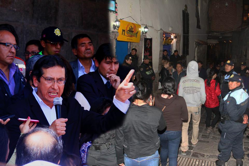 MUNICIPALIDAD DEL CUSCO APLICARA PRINCIPIO DE AUTORIDAD EN BARES Y DISCOTECAS DEL CENTRO DE LA CIUDAD.