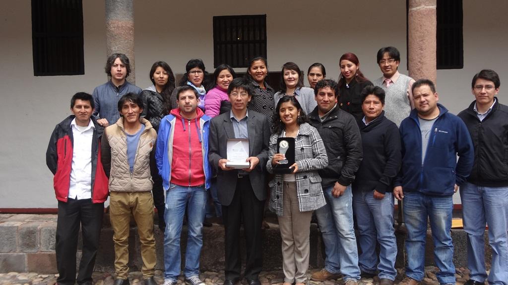 MUNICIPALIDAD DEL CUSCO RECIBE PREMIO NACIONAL EN PREVENCIÓN Y REDUCCIÓN DEL RIESGO DE DESASTRES – EDICIÓN 2015