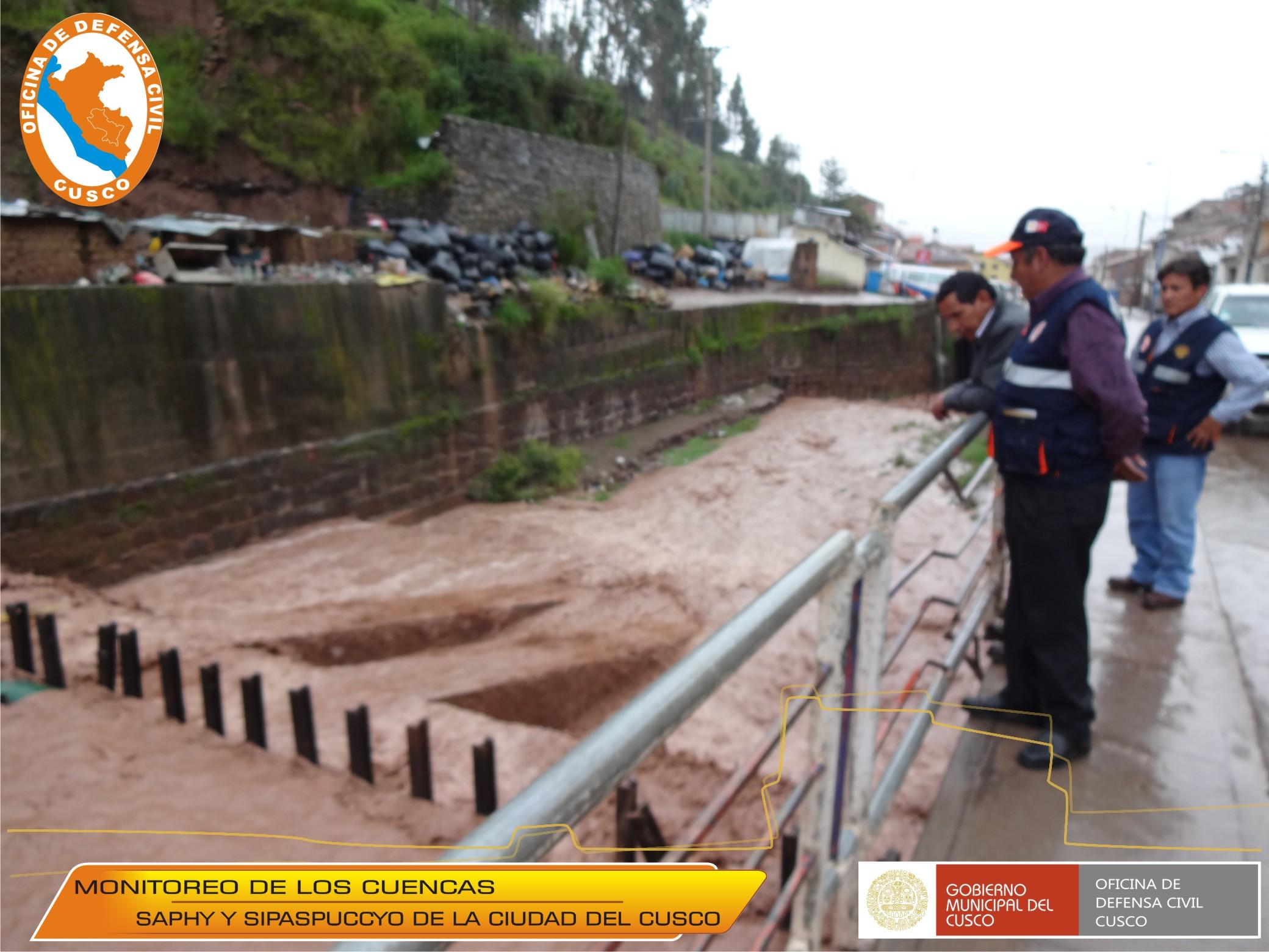 INFORME DE ACTIVIDADES REALIZADAS EN EL MARCO DEL PERIODO DE LLUVIAS 2015 Y FENOMENO EL NIÑO