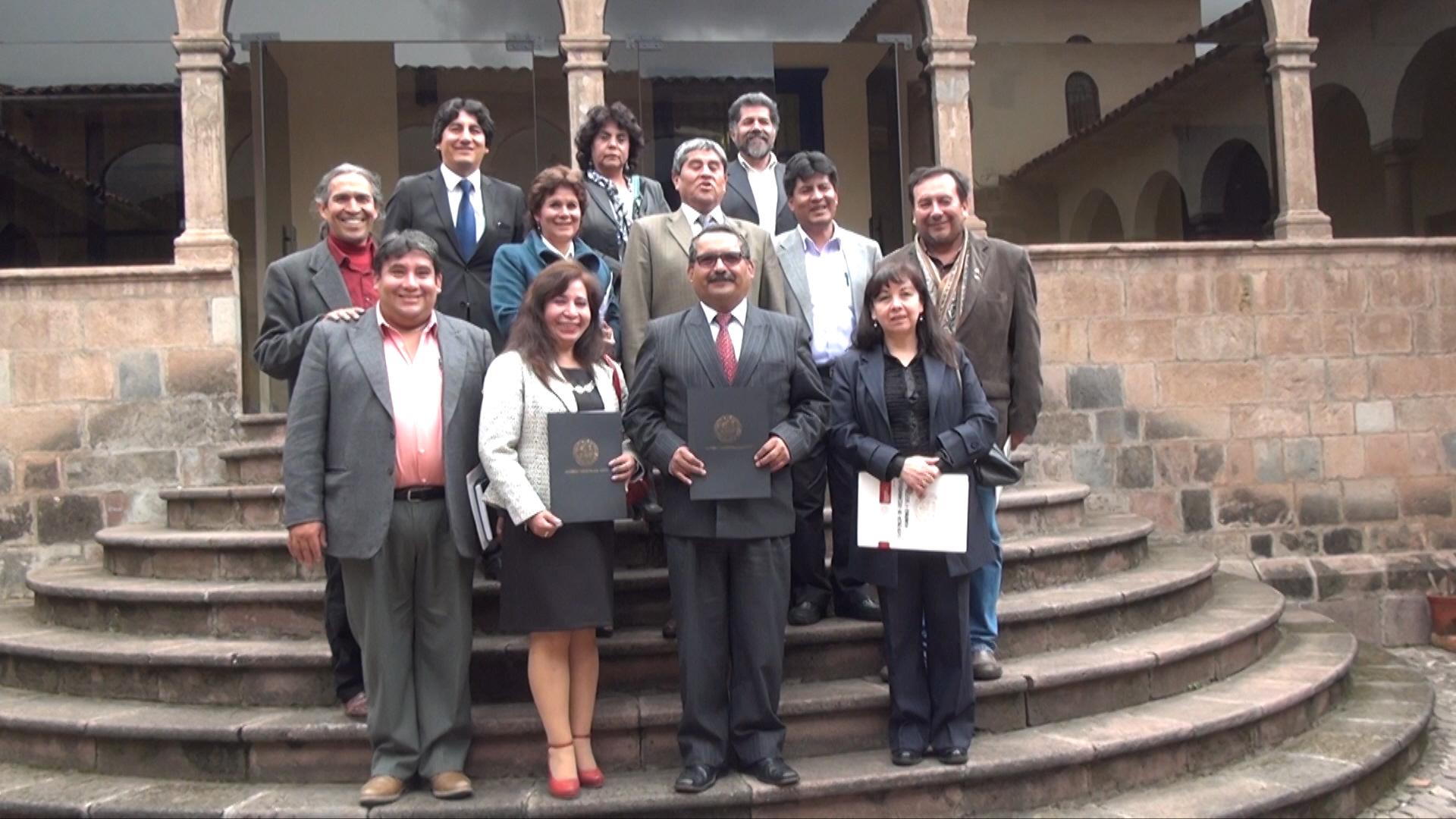 Se desarrollo taller de trabajo para el Convenio Marco entre el Gobierno Municipal del Cusco y la Unsaac