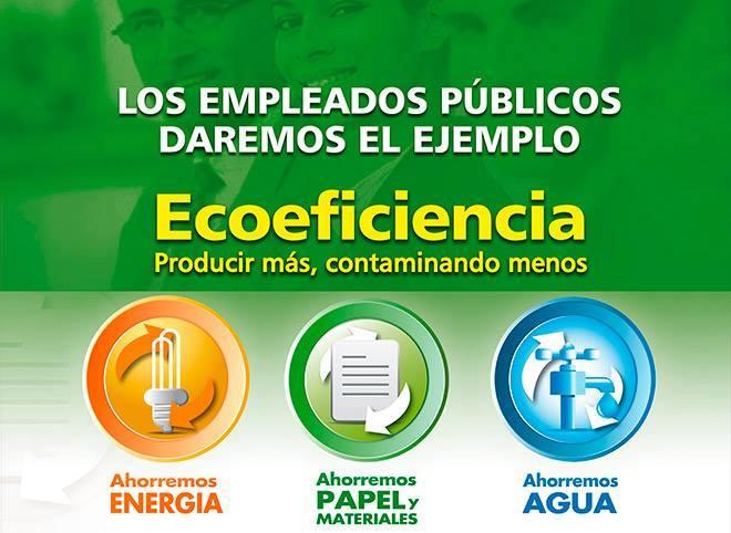 """""""ECOEFICIENCIA AMBIENTAL EN EL SECTOR PUBLICO"""""""