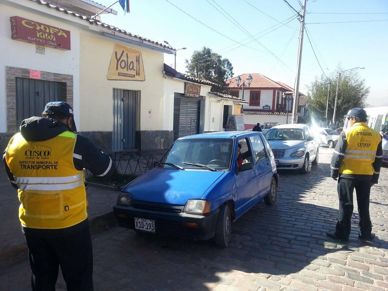 GERENCIA DE TRÁNSITO INTENSIFICA CONTROL DE UNIDADES VEHICULARES TICO EN DIFERENTES SECTORES DE LA CIUDAD