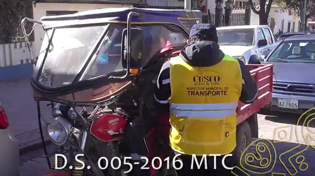 Inspecciones de Transito – Agosto 2016