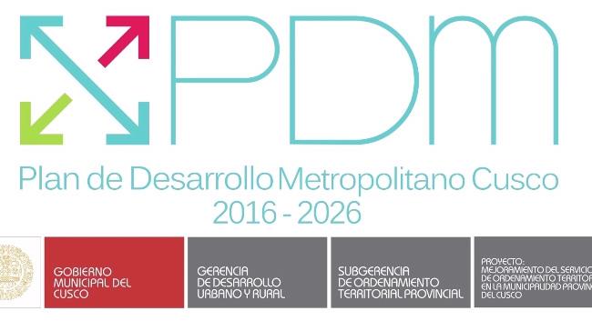 Plan de Desarrollo Metropolitano del Cusco – 2016 – 2026