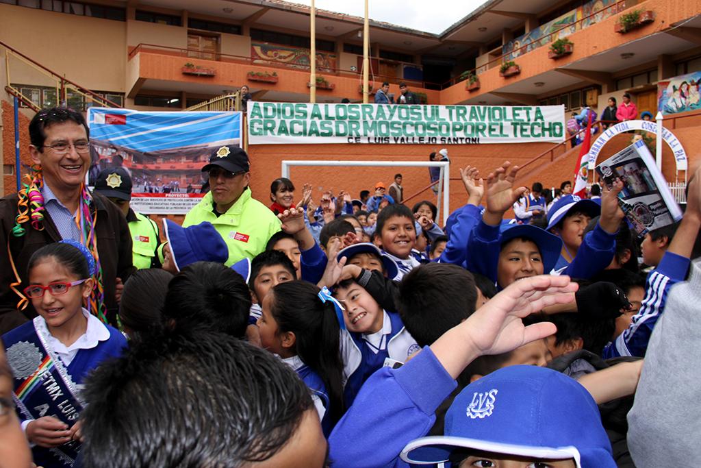 MALLAS DE PROTECCIÓN CONTRA LA RADIACIÓN ULTRAVIOLETA PARA 107 INSTITUCIONES EDUCATIVAS DE LA PROVINCIA.