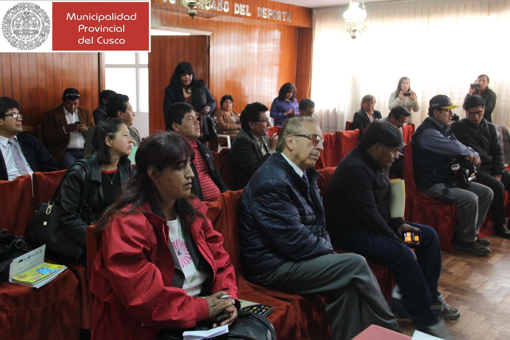 LANZAMIENTO DEL I FESTIVAL  INTERDISTRITAL DE KARATE EN LA CIUDAD DE CUSCO