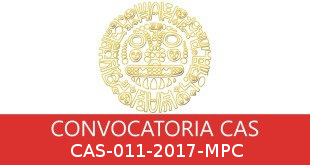 Convocatorias CAS-011-2017-MPC