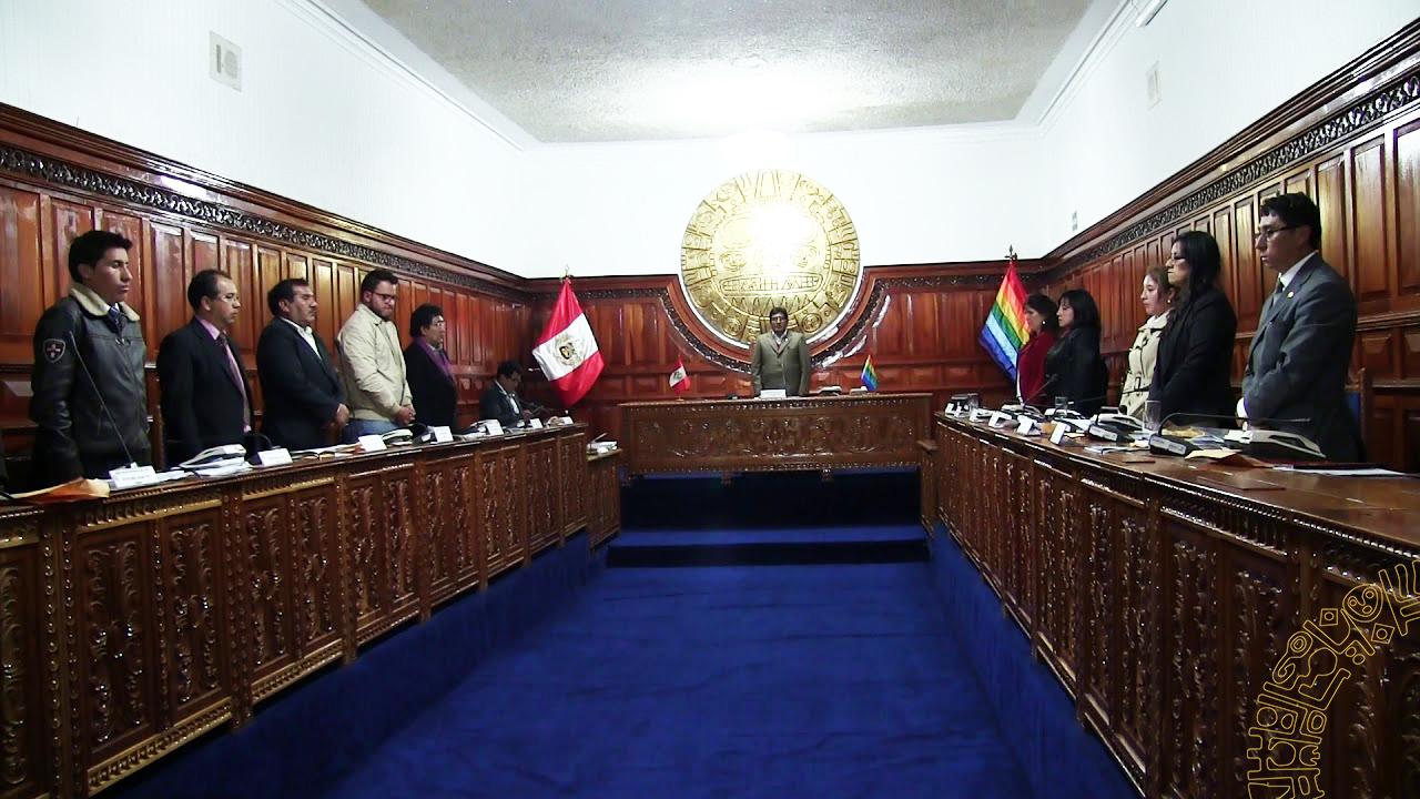 CONCEJO MUNICIPAL DE LA MUNICIPALIDAD PROVINCIAL  DE CUSCO CONFORMO COMISIONES PARA EL PRESENTE AÑO – 2018
