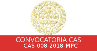 Convocatorias CAS-008-2018-MPC