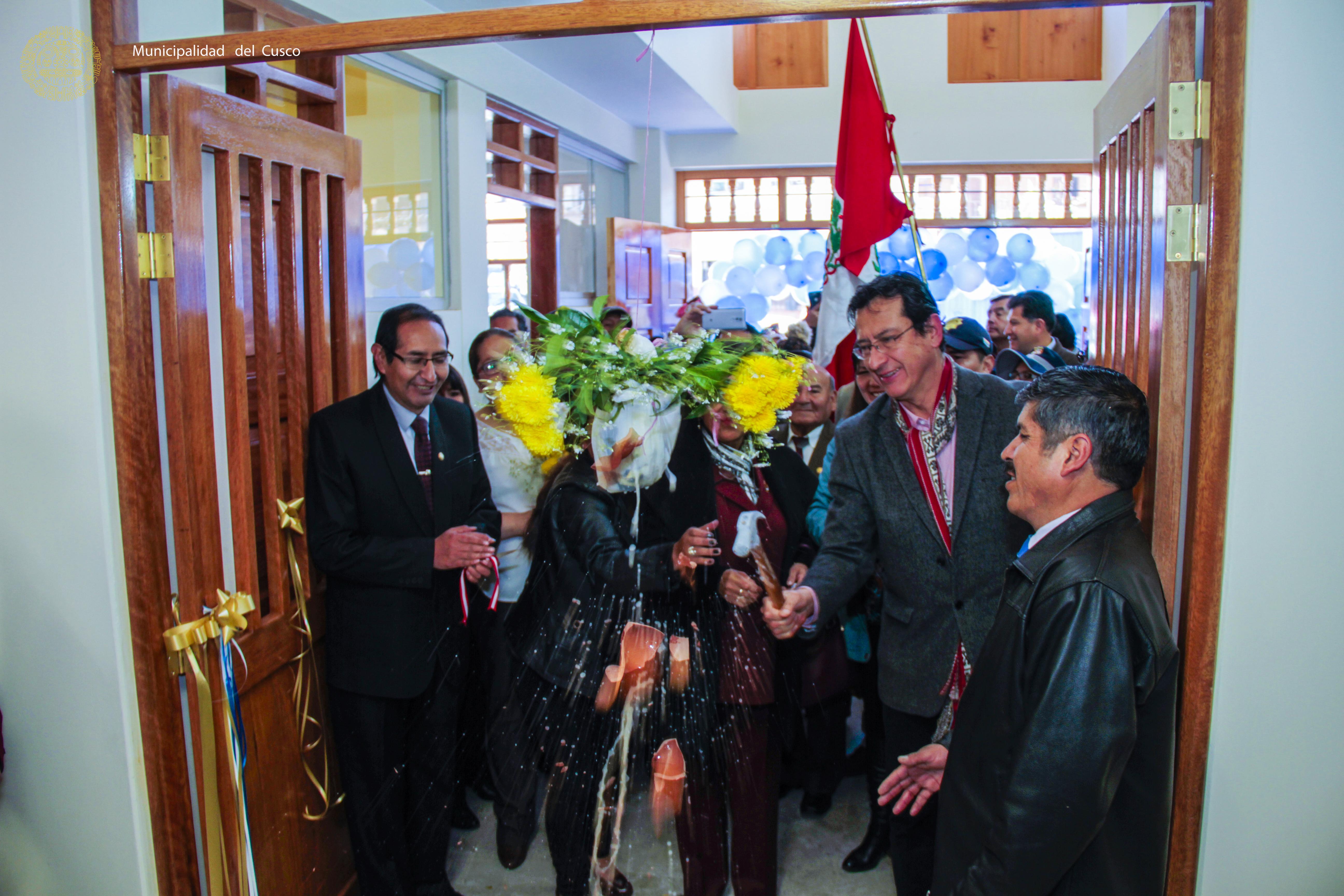 INAGURACION DE LA  NUEVA  INSTITUCIÓN EDUCATIVA MIXTA   50828 NUEVA ALTA  EN EL DISTRITO DEL CUSCO