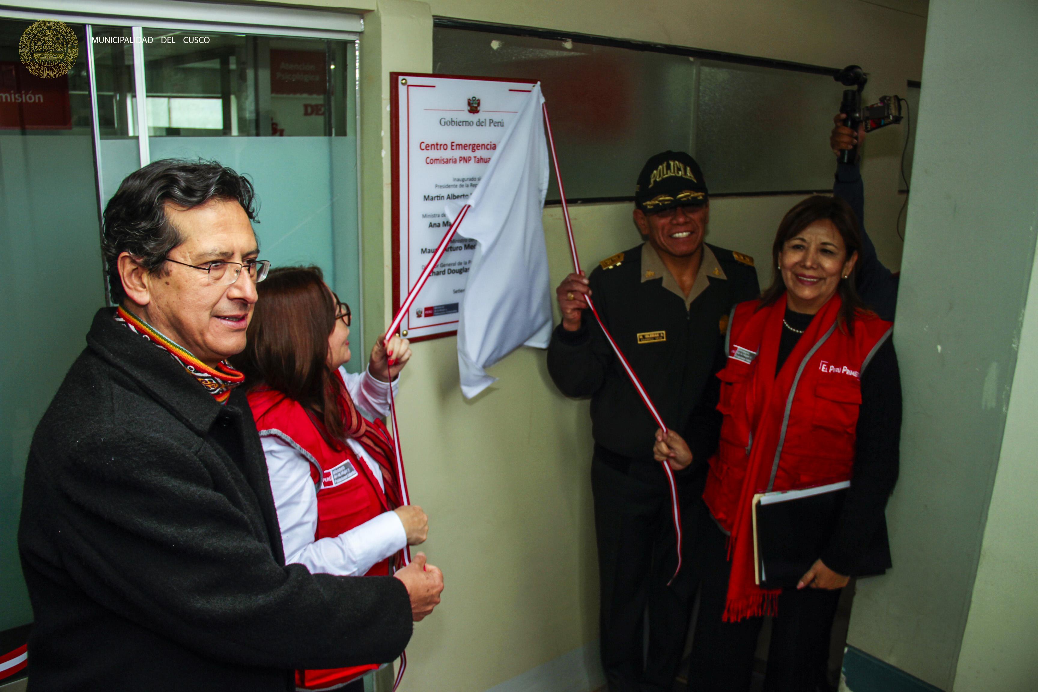 NUEVO CENTRO DE EMERGENCIA MUJER EN LA COMISARÍA PNP DE TAHUANTINSUYO EN EL DISTRITO DE CUSCO