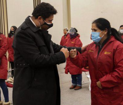 MÁS DE 3600 VISITAS DOMICILIARIAS MENSUALMENTE REALIZARÁN PROMOTORAS SOCIALES DEL MUNICIPIO DE CUSCO PARA PREVENIR Y REDUCIR LA ANEMIA
